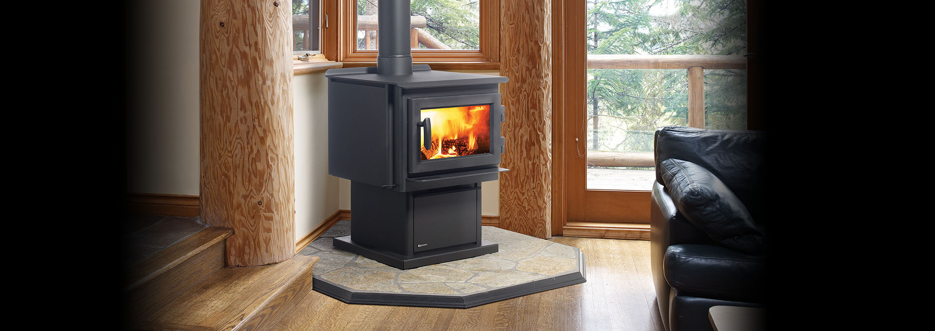 en with the wood your home space stoves categories and burning canada fireplaces fireplace heat depot decor