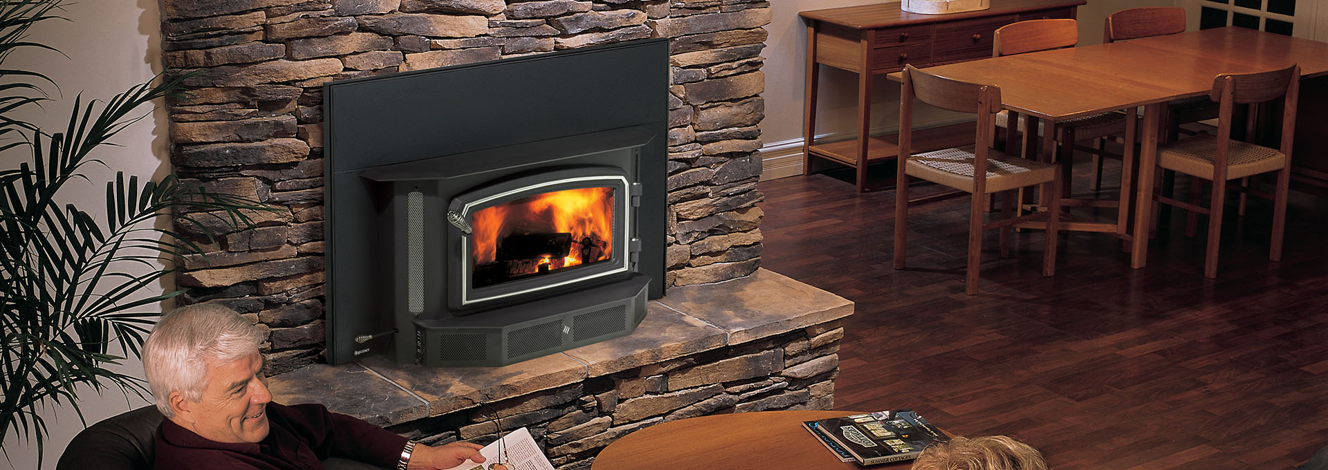 wood room fireplace burning me trendesire ideas living inspiration modern inserts insert
