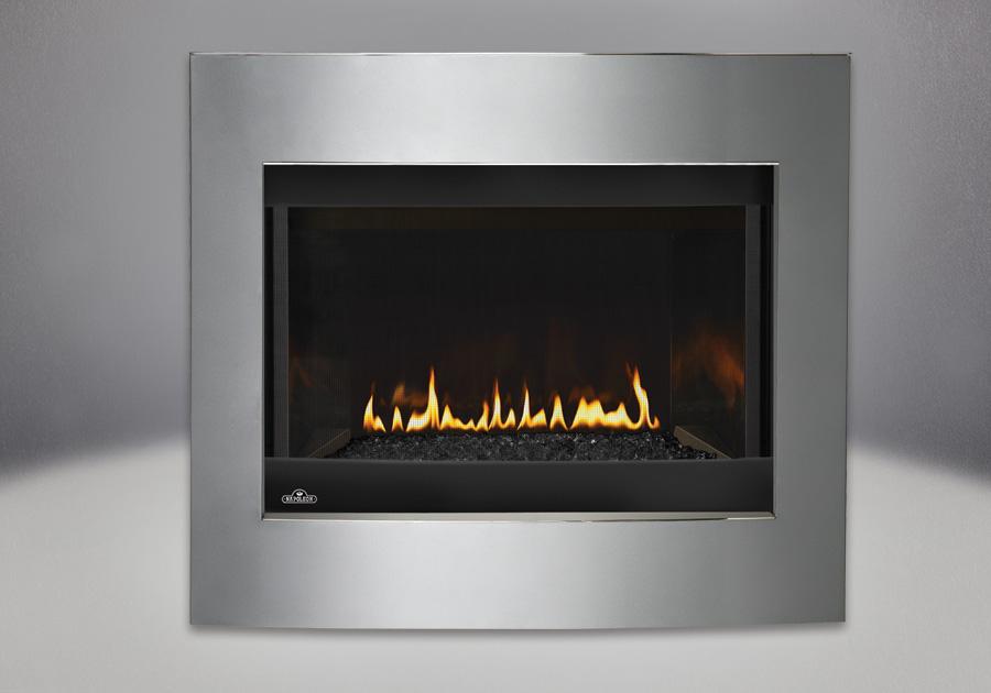 Napoleon Crystallo™ Direct Vent Gas Fireplace | Toronto ...