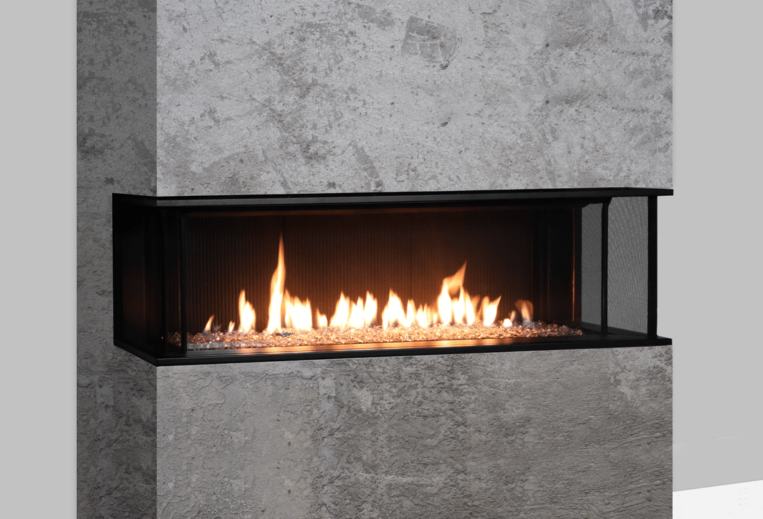 Valor LX2 3-Sided Series Gas Fireplace - 2200JN/JP | Zero ...