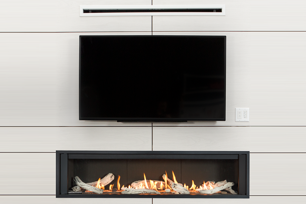 Valor L3 Linear Series Gas Fireplace Zero Clearance
