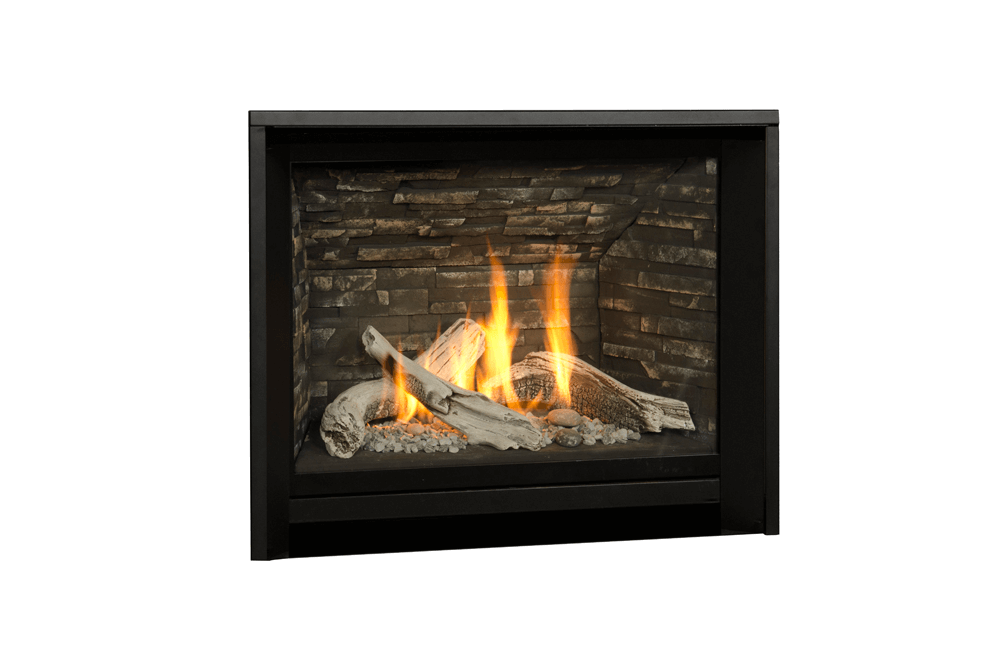 Driftwood and 1 Inch Fixed Framing Kit in Black