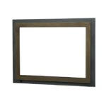 Edgemont Front - Bronze with Backing Plate