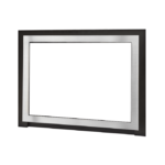 Edgemont Front - Plated Brushed Nickel with Backing Plate