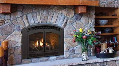 Excalibur P90 Gas Fireplace