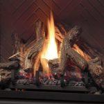 Fiber Split Oak Log Set (Solace)