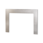 Floating 3-Sided Front - Brushed Nickel