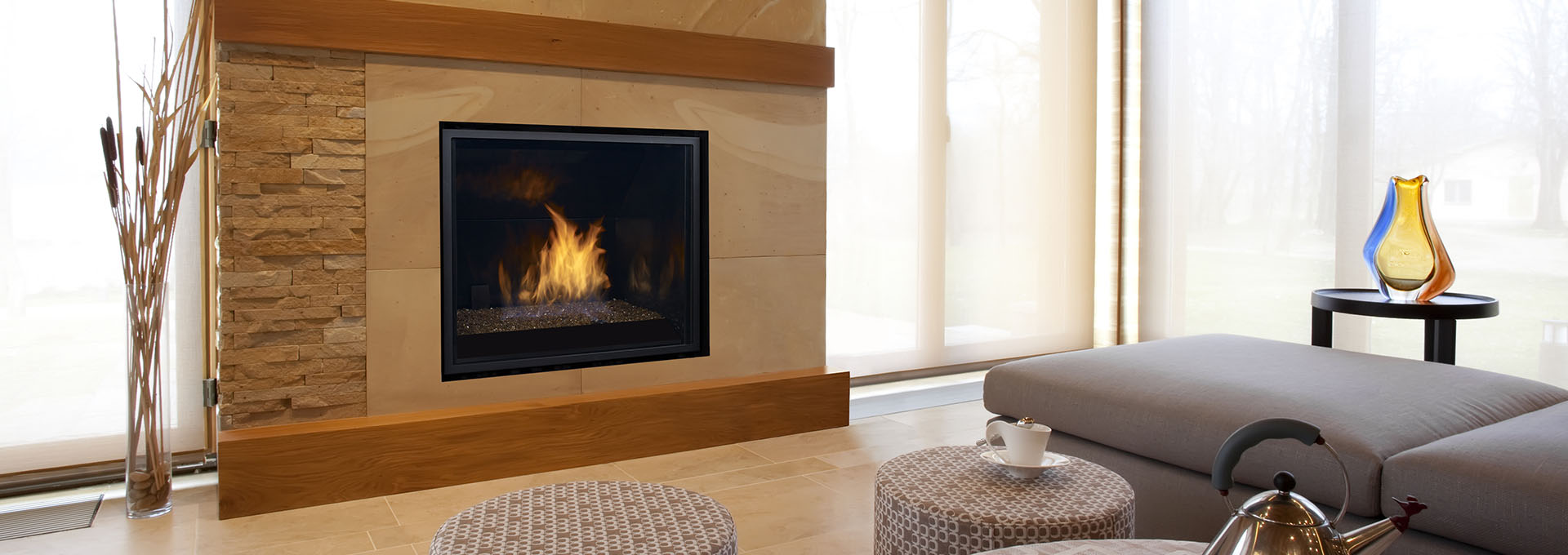 Regency horizon hz965e contemporary gas fireplace for Modern gas fireplace price