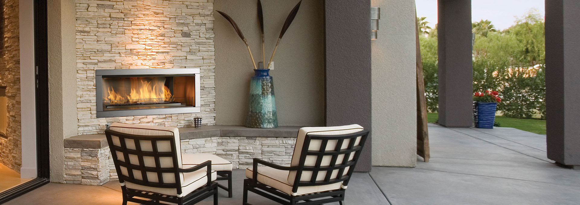Horizon HZO42 Outdoor Gas Fireplace-3