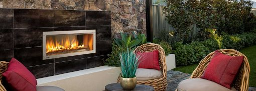 Horizon HZO42 Outdoor Gas Fireplace