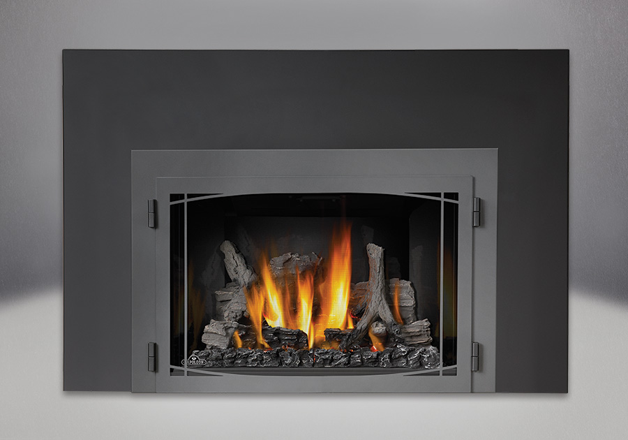 Napoleon infrared 3 gas fireplace insert best toronto price for Modern gas fireplace price