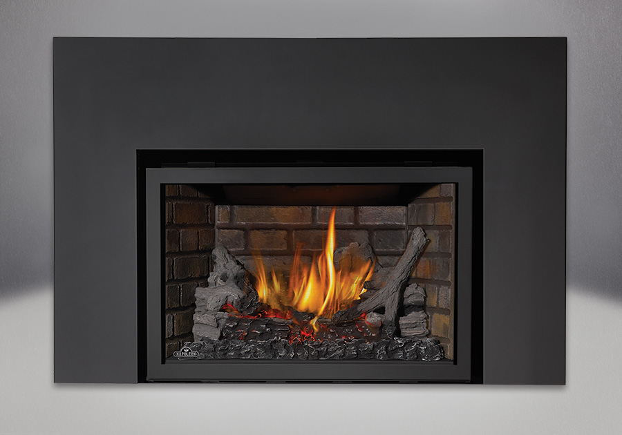 Napoleon infrared x3 gas fireplace insert best toronto for Modern gas fireplace price