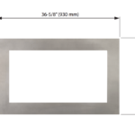 Inner Bezel Surround - Brushed Nickel