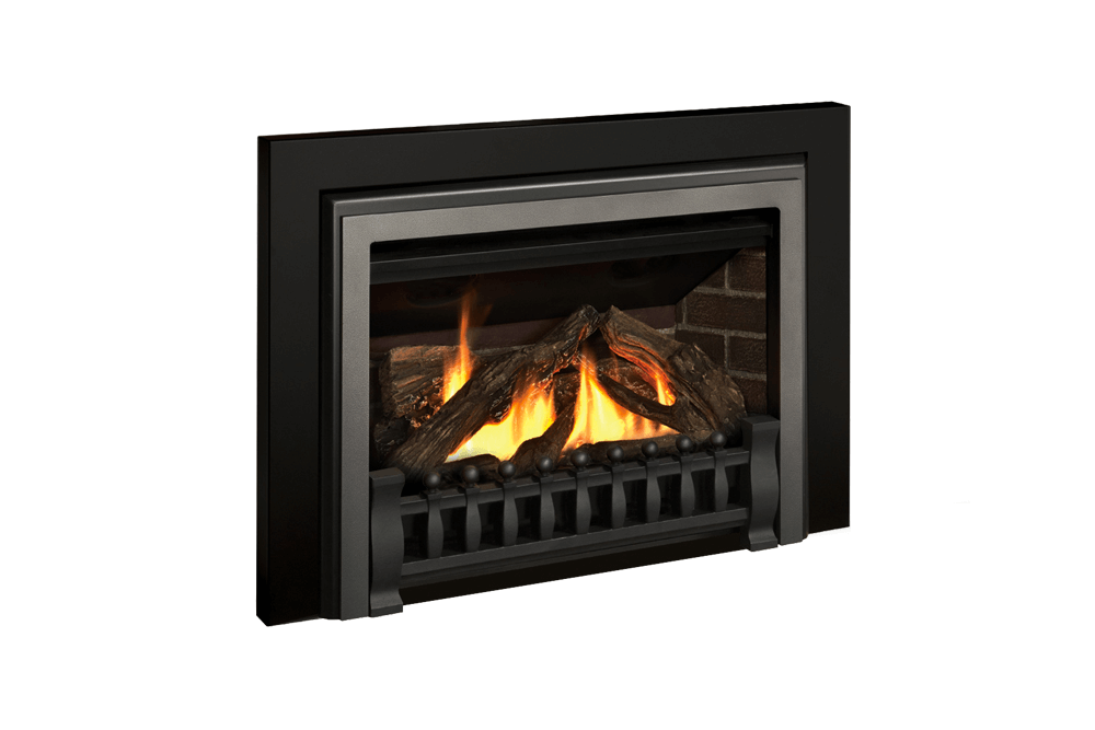 Logs, Clearview Front, Ventana Fret and Square Trim Kit in Black