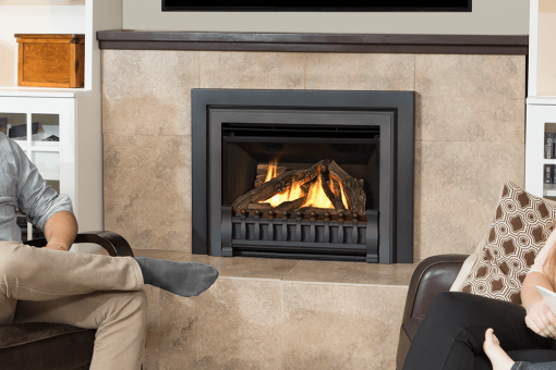 Logs, Clearview Front and Square Trim Kit in Black