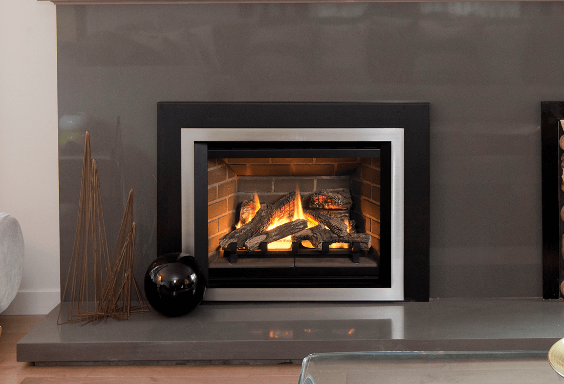 multi experience gas original sided slide inserts valor the radiant fireplace