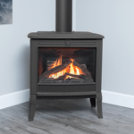 Logs & Square Front in Black