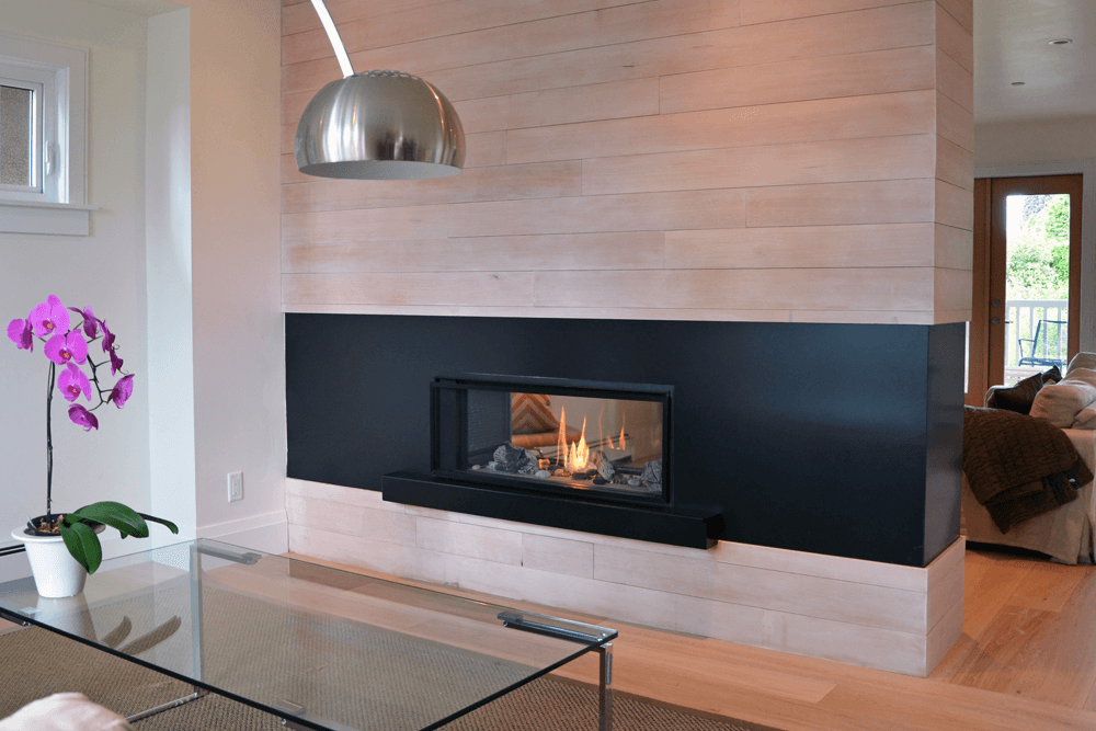 Valor L1 2 Sided Linear Series Gas Fireplace 1600JN JP