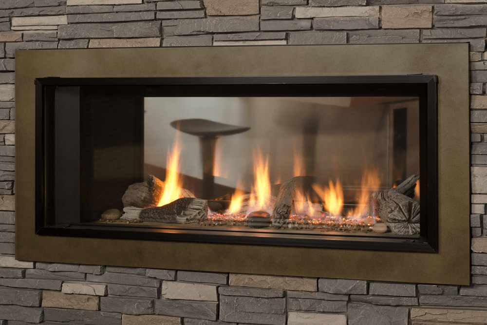 Valor L1 2-Sided Linear Series Gas Fireplace - 1600JN/JP ...
