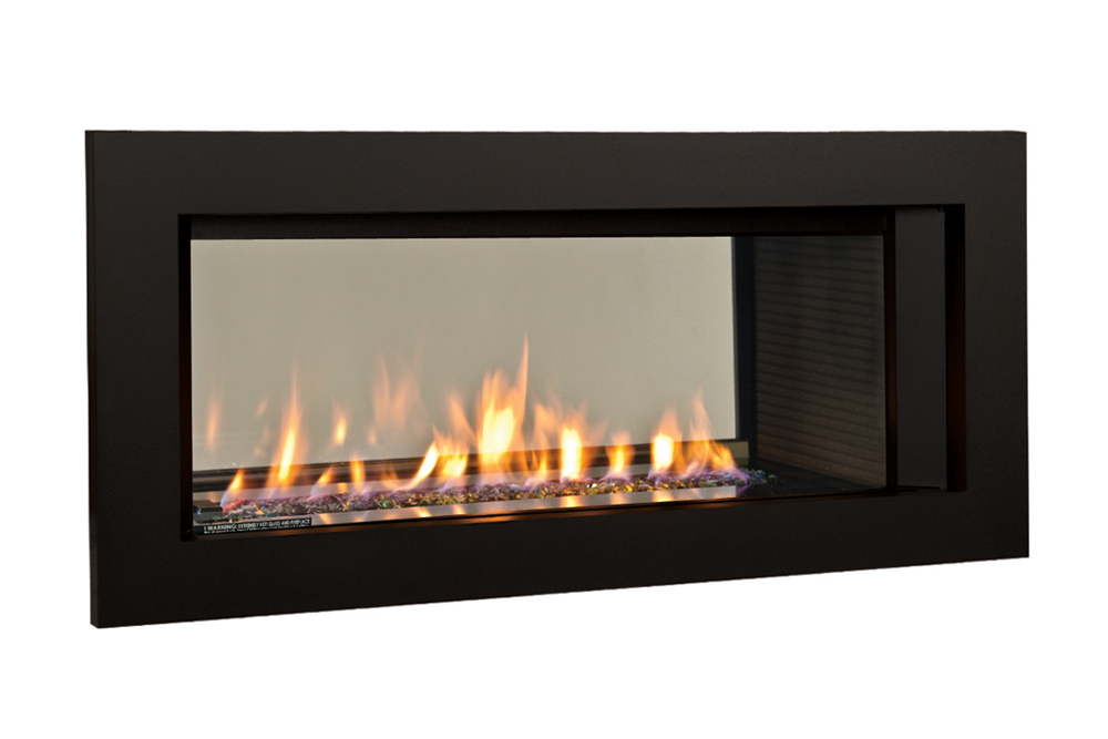 Murano Glass, Fluted Black Liner and 3-1:2 Trim in Black