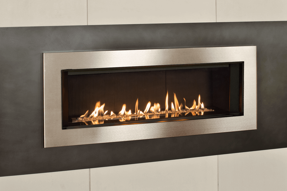 Murano Glass, Fluted Black Liner and 5 1:4 Inch Trim in Brushed Nickel