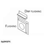 New Siding Flashing Kit