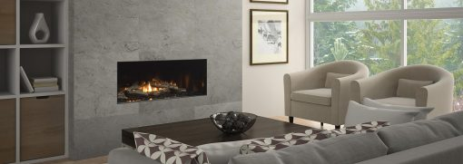 New York View 40 Gas Fireplace-1