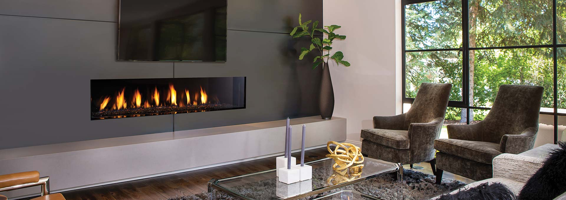 New York View 72 Gas Fireplace-1