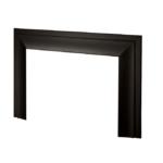 Oversize Closure Plate - Black