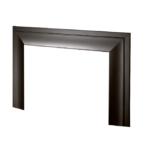 Oversize Closure Plate - Black -1