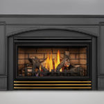 PHAZER® Logs, Sandstone Brick Panels, Deluxe Flashing Kit in 6