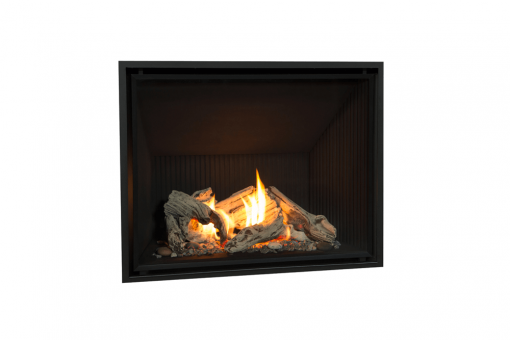 Pebble Beach Driftwood, Fluted Black Liner and 1 Inch Fixed Frame -1