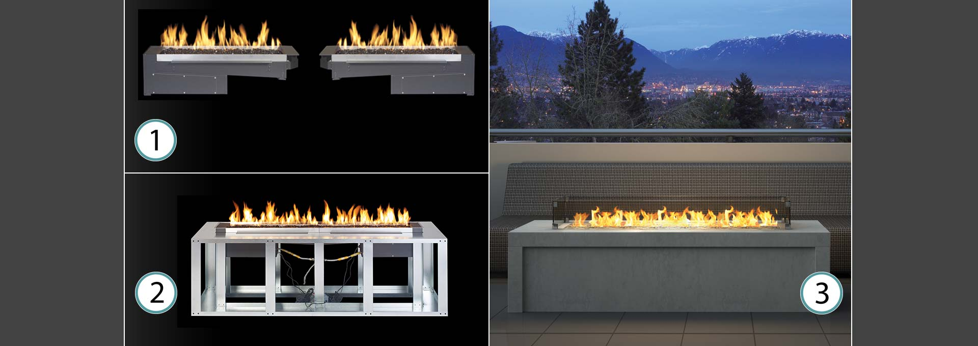 Plateau PTO30 Outdoor Gas Burner-4