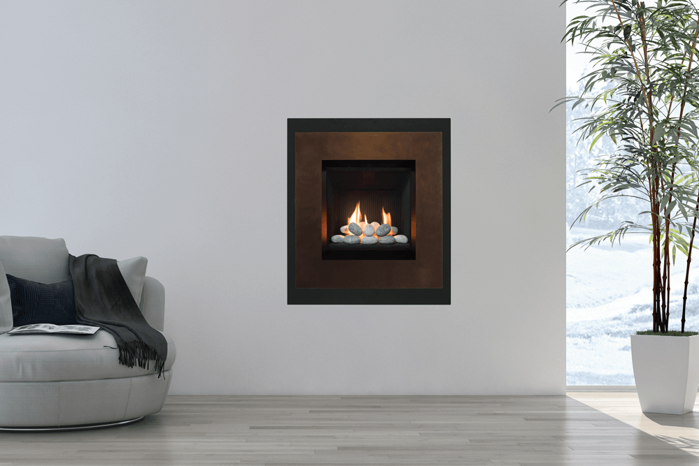 Valor Portrait Ledge Gas Fireplace 569lfb N Z Zero
