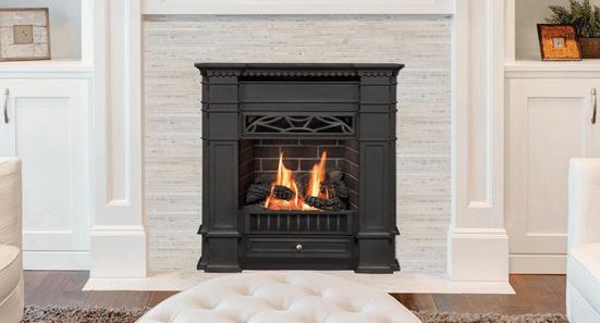 Valor Portrait President Gas Fireplace 536cxb Zero