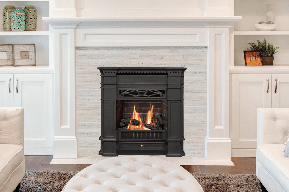 Valor Portrait Senator Gas Fireplace 563scb Zero Clearance