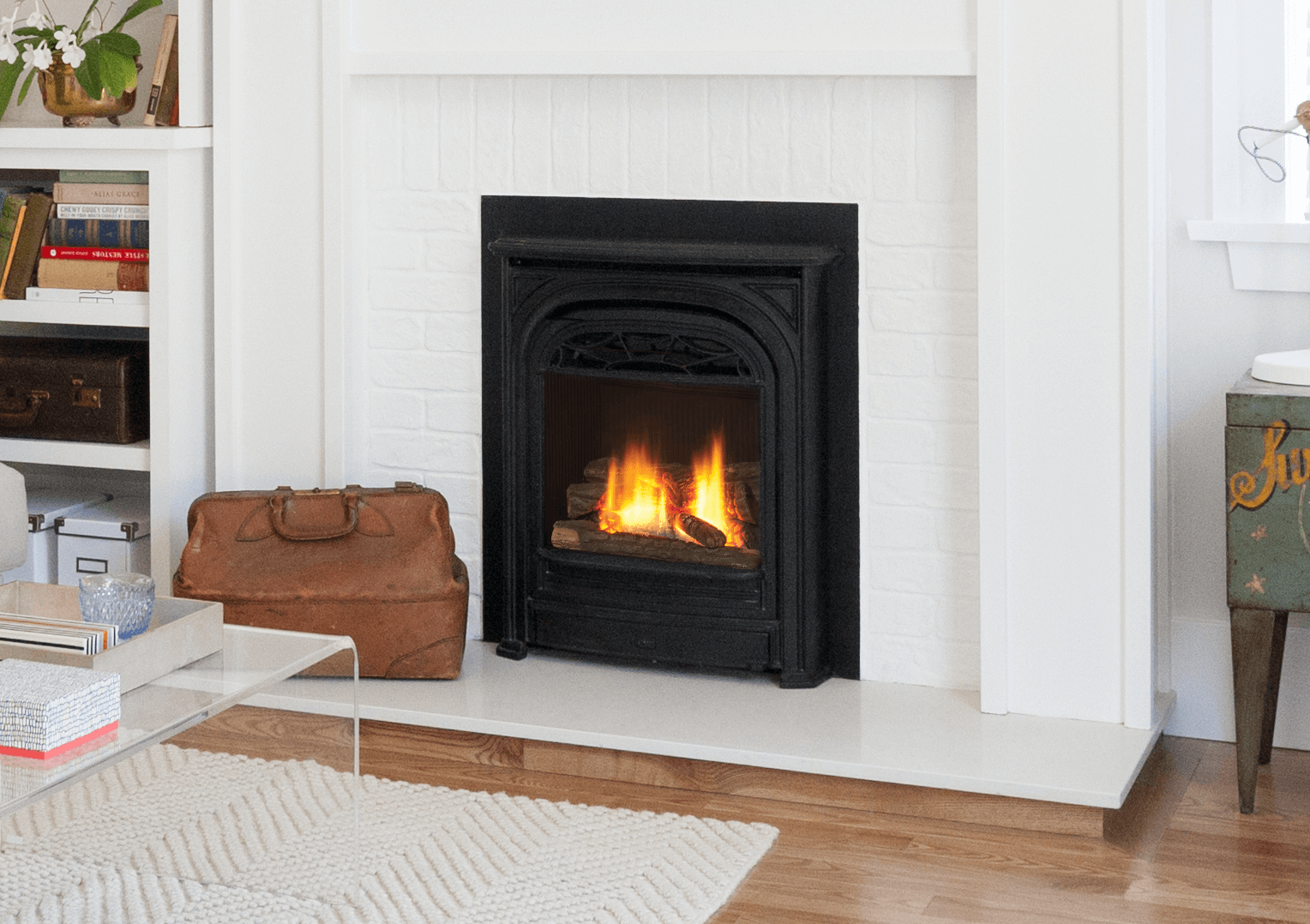 Valor Portrait Series Insert Gas Fireplace Toronto Best Price