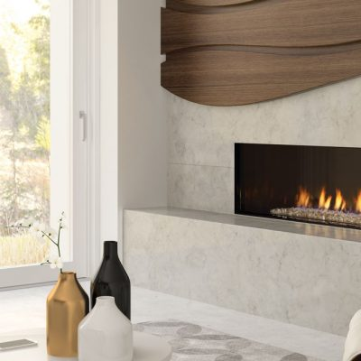 Regency City Series Chicago Corner 40RE Modern Gas Fireplace