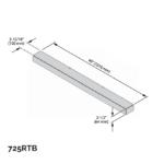 Riser Kit - Black - 2 ½ x 40