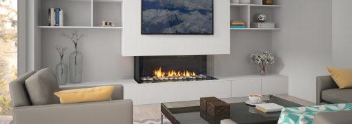 San Francisco Bay 40 Gas Fireplace-2
