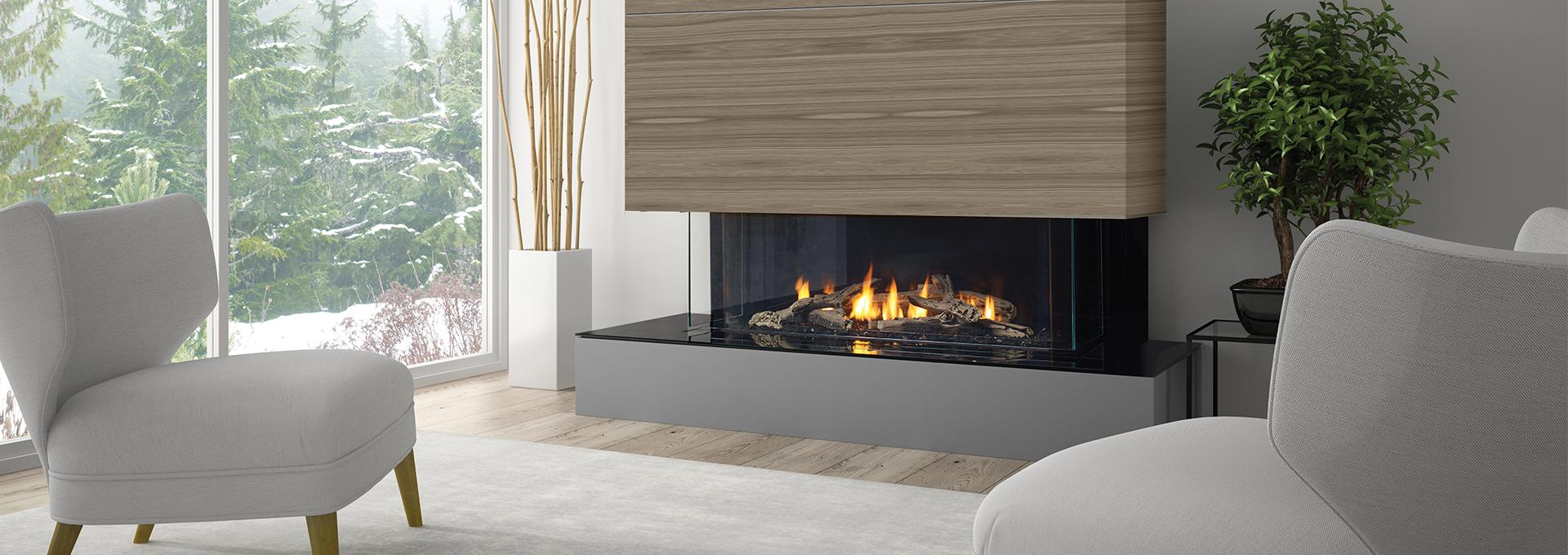Regency city series san francisco bay 40 modern gas for Modern gas fireplace price