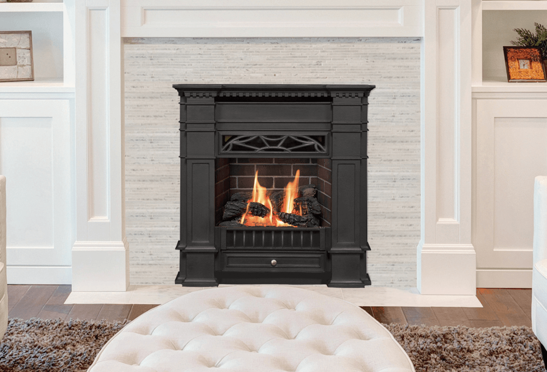 Valor Portrait Series Gas Fireplace 530in Ip Zero