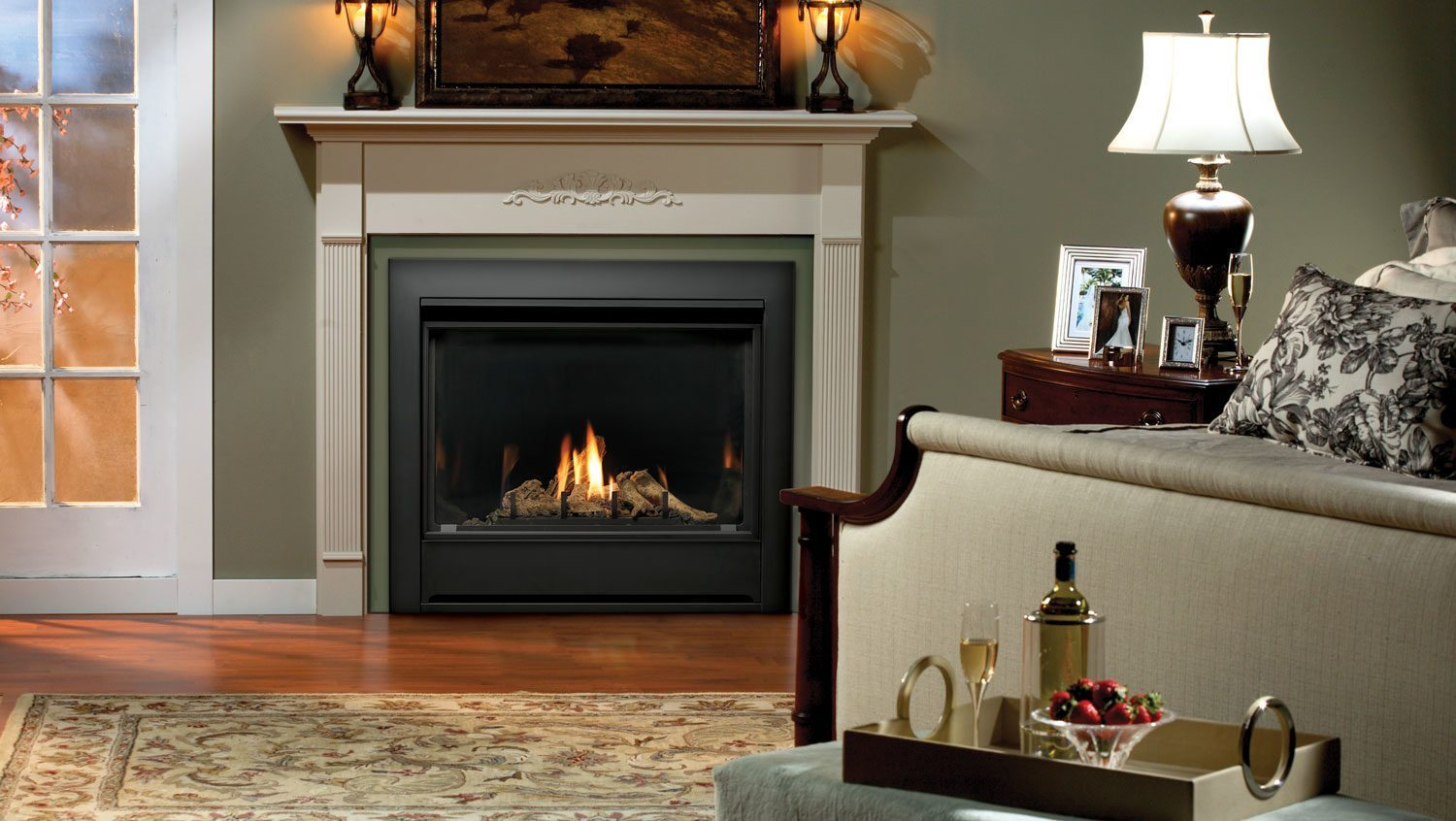 Marquis Solara Ii Direct Vent See Through Gas Fireplace