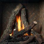 Split Oak Log Set