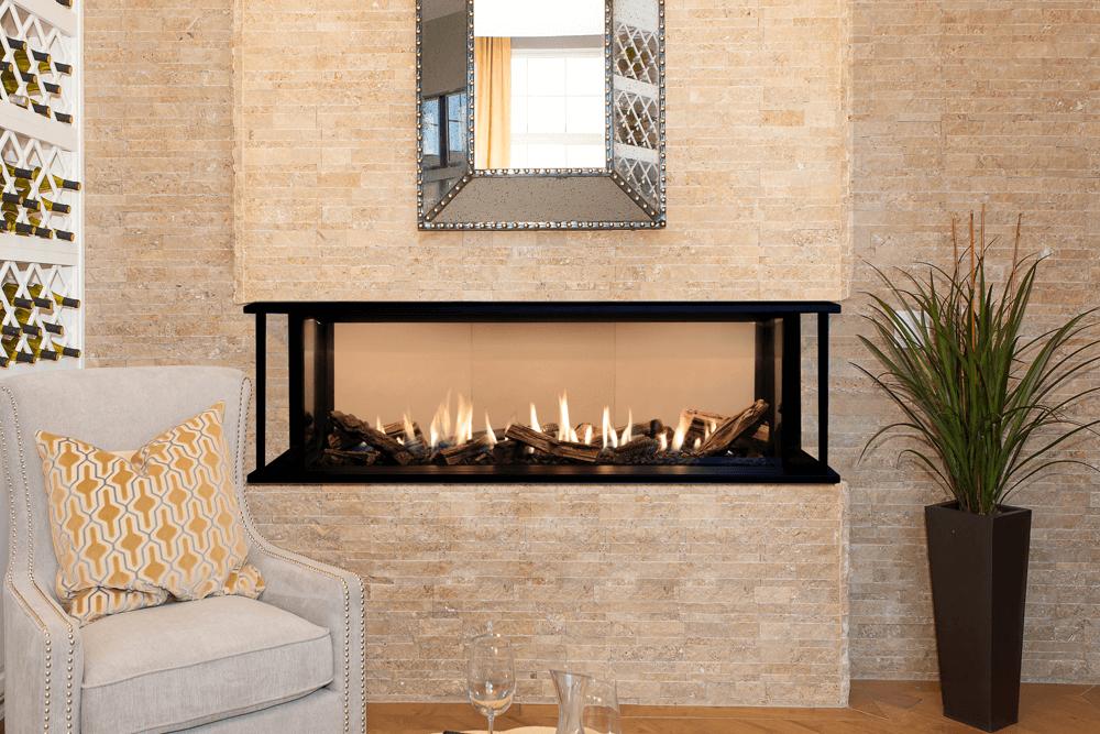 Valor Lx2 3 Sided Series Gas Fireplace 2200jn Jp Zero