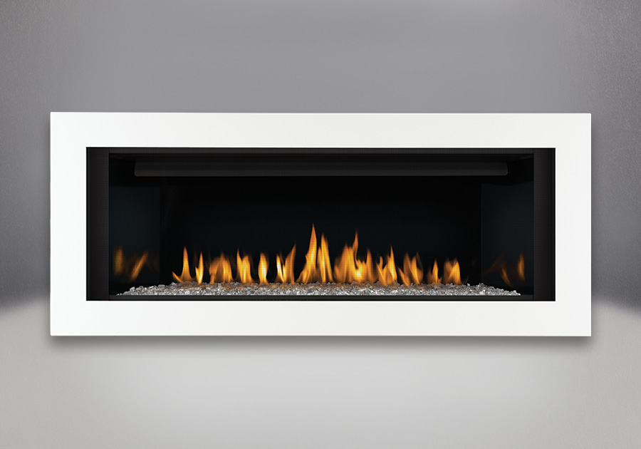 Napoleon linear 45 direct vent gas fireplace toronto for Modern gas fireplace price
