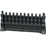 Traditional Cast Iron Fret - Black (545CFV only)