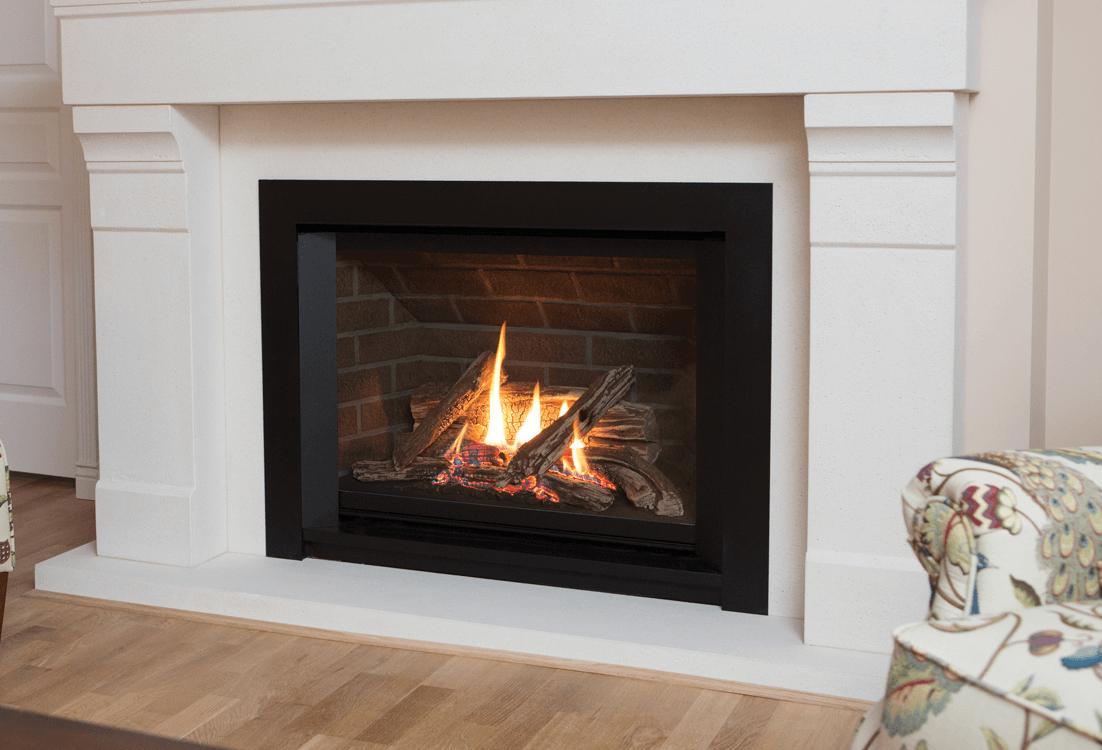 Beautiful Valor H5 Series Gas Fireplace 1100JN/JP - 1150JLN/JLP | Zero-Clearance XQ03