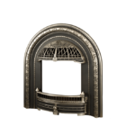 Windsor Arch Insert Front - Chrome