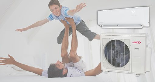 Ductless air-conditioner for home